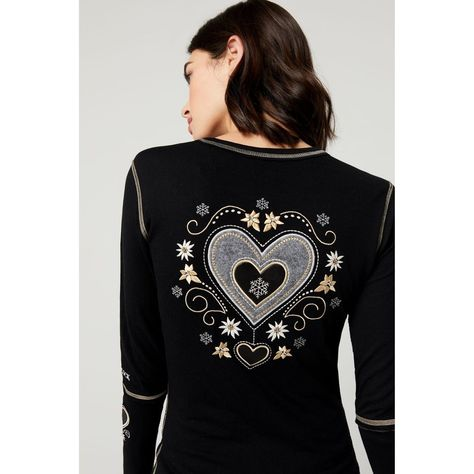 Alp N Rock Alpine Heart Crew - Black