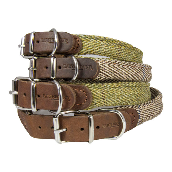 EARTHBOUND Signature Tweed Rolled Collars