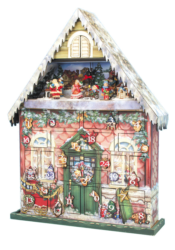 Heirloom German Musical Advent Calendars