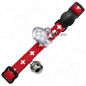 Swiss Cross Cat Collars