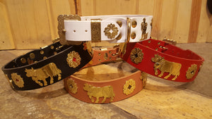 "1 1/2"" Large Contemporary Swiss Dog Collar"