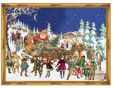 Large Traditional German Advent Calendars - Old World Victorian