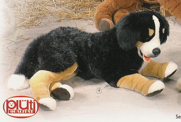 Cute 'n Cuddly Stuffed Bernese Mountain Dogs