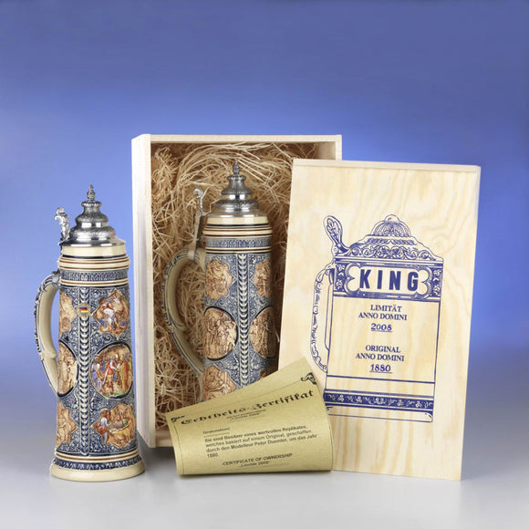 Limited Edition Traditional German Steins