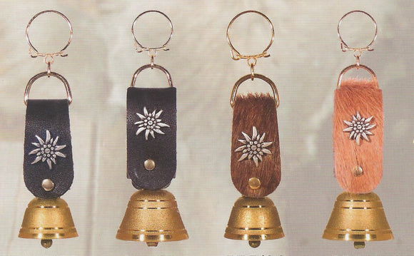 Mini Cowbell Key Ring