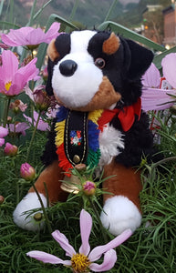 "Signature ""Alpen Schatz"" Stuffed Bernese Mountain Dogs"