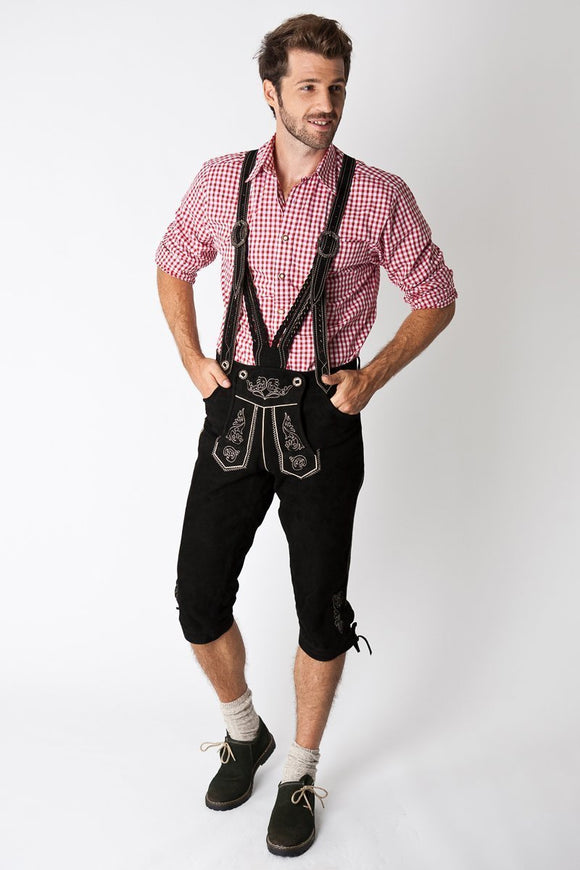 CLEARANCE Alpen Schatz™ Men's Lederhosen - Shorts only (no suspenders/braces)