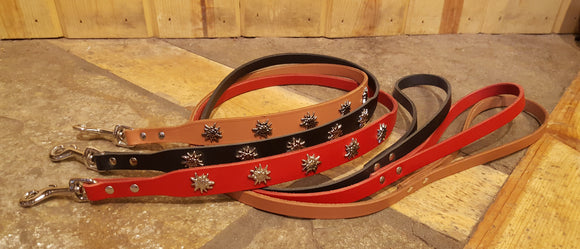 Swiss Edelweiss Leashes