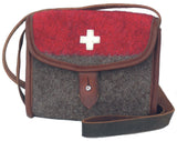 Stylish Swiss Boiled Wool Blanket Handbags by KARLEN Swiss