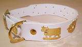"1 1/4"" Medium Contemporary Swiss Dog Collar"
