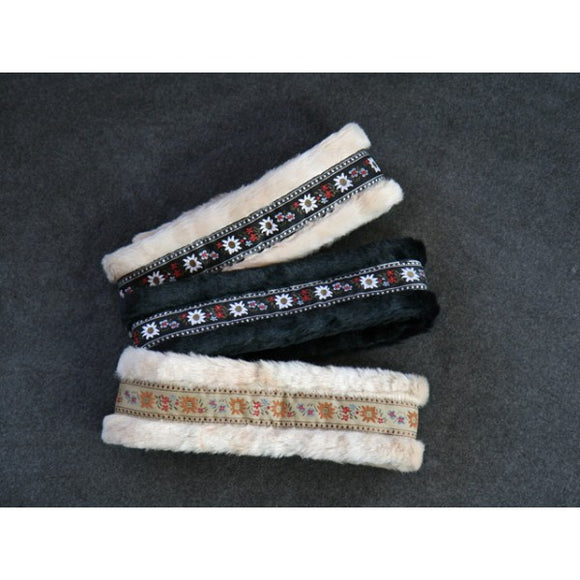 Adjustable Edelweiss Warm Winter Headbands