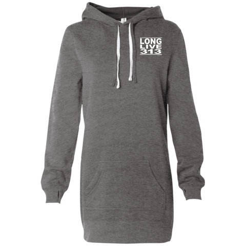 #LongLive313 - Women's Hooded Pullover Mini