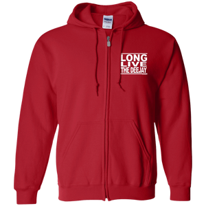 #LongLiveTheDeejay - Zip Up Hooded Sweatshirt