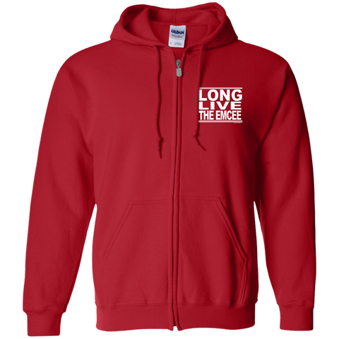 #LongLiveTheEmcee - Zip Up Hooded Sweatshirt