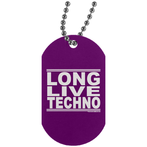 #LongLiveTechno - Dog Tag