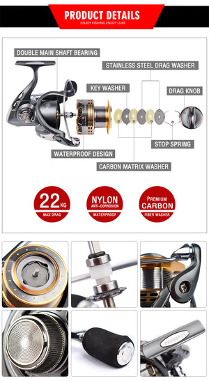 Aluminum alloy Fishing Reel