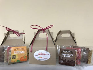 Granola Sample Box Favor
