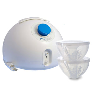 Freemie Freedom Double Electric Breast Pump With Standard (25mm funnels) Open System Freemie Cup Set