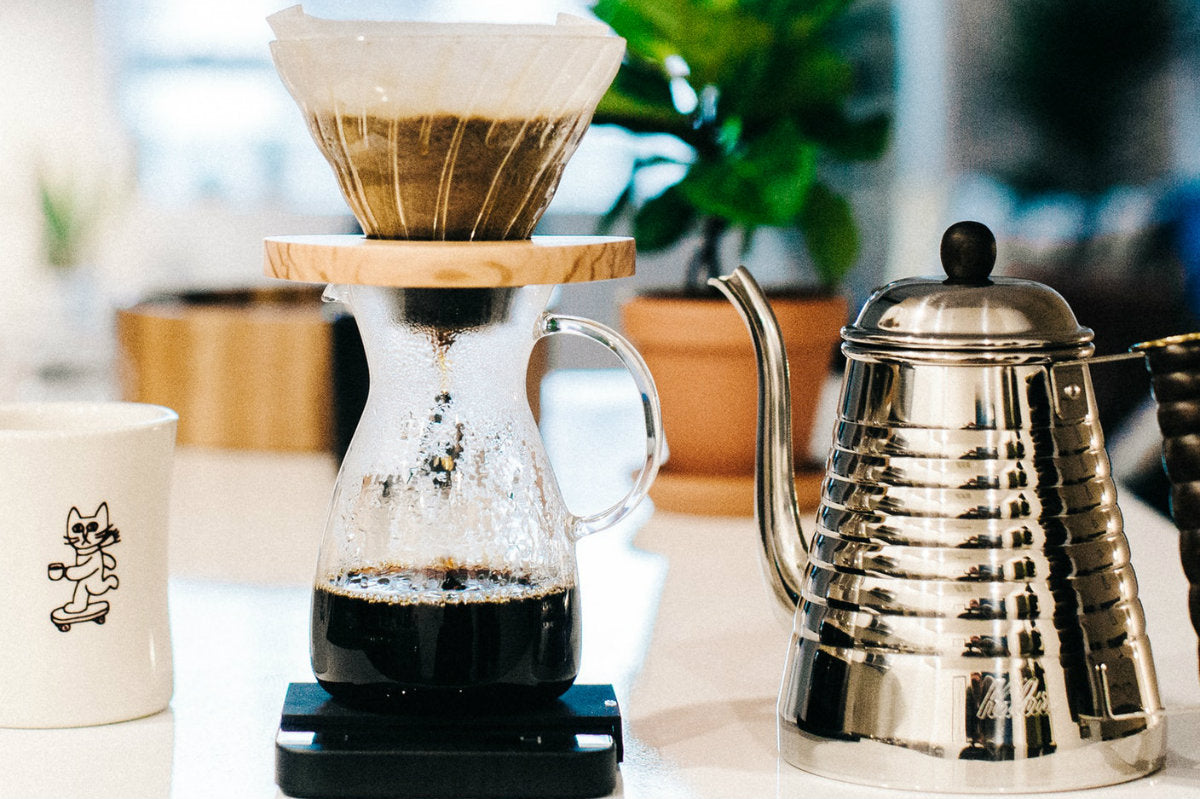 What is Pour Over Coffee? - Anchor Coffee Co