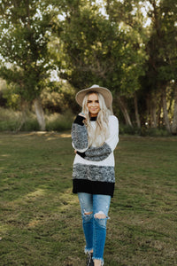LANDRY CABLE KNIT SWEATER