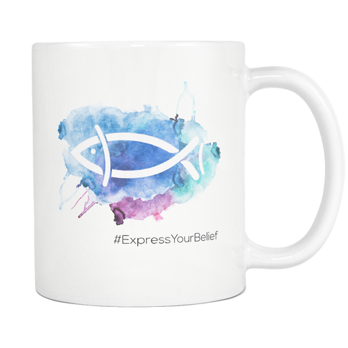 Ichthys Water Color (Mug)
