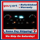 *REMAN* 98-02 OLDSMOBILE INTRIGUE DIGITAL CLIMATE CONTROL HEATER ECON 09381523
