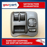 00-02 SATURN SC SERIES SC1 SC2 ✅COUPE✅ DRIVER MASTER POWER WINDOW SWITCH OEM