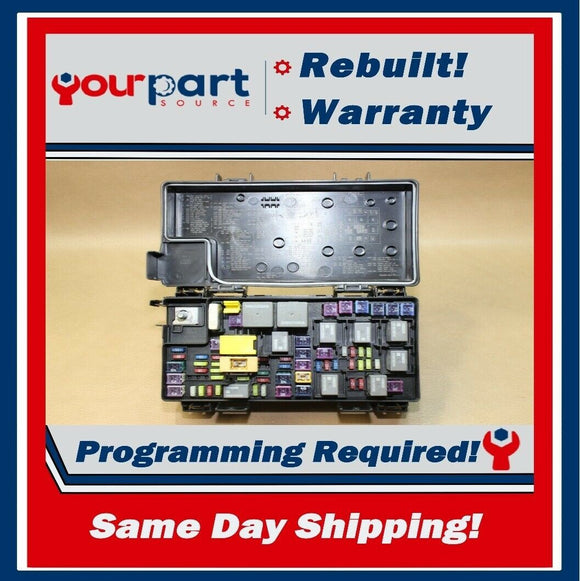 REMAN 2012 CARAVAN T&C TIPM TEMIC INTEGRATED FUSE BOX MODULE 68105507AE OEM