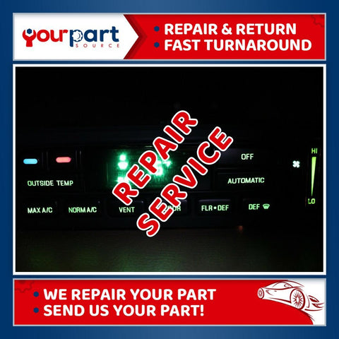 *REPAIR SERVICE* 96-11 F-150 CROWN VICTORIA TOWN CAR CLIMATE HEATER AC CONTROL