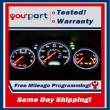 03 04 05 CIVIC SEDAN M/T INSTRUMENT CLUSTER SPEEDOMETER GAUGES NO SRS