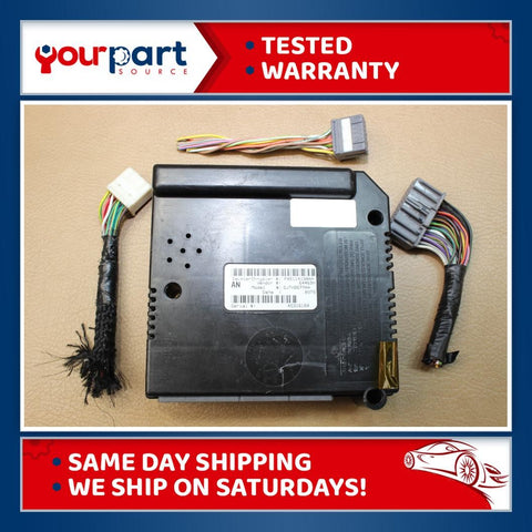 TESTED 01-04 DODGE DAKOTA BCM BODY CONTROL MODULE CTM CENTRAL TIMING 05114190AA