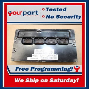*TESTED* 03 DODGE DAKOTA 4.7L AT ECU ECM PCM ENGINE CONTROL COMPUTER 56040498AI