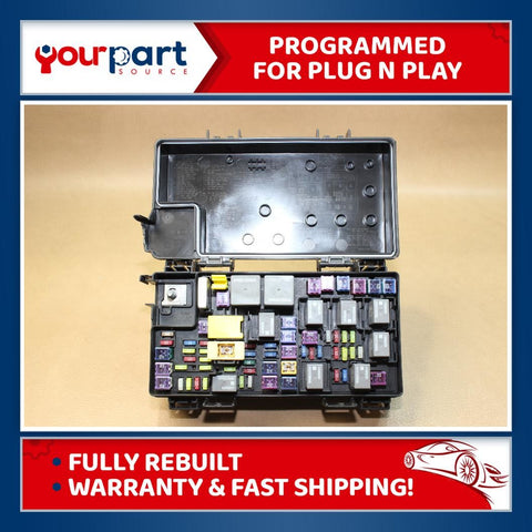 REMAN 12 DURANGO GRAND CHEROKEE TIPM TEMIC INTEGRATED FUSE BOX MODULE 68089321AG