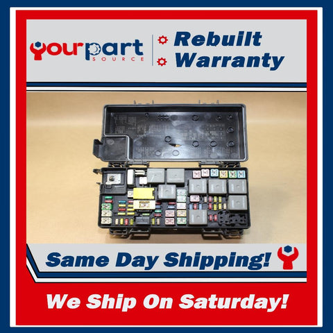 08-09 JOURNEY CARAVAN T&C TIPM TEMIC INTEGRATED FUSE BOX MODULE 56049720AS OEM