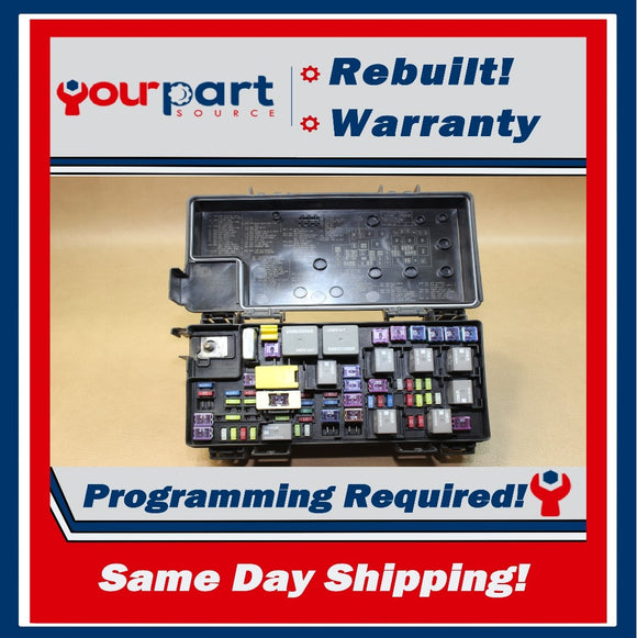REBUILT 11 JEEP WRANGLER 3.8L TEMIC INTEGRATED MODULE FUSE BOX TIPM 04692332AE