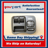 00-02 SATURN SC SERIES SC1 SC2 COUPE DRIVER MASTER POWER WINDOW SWITCH OEM
