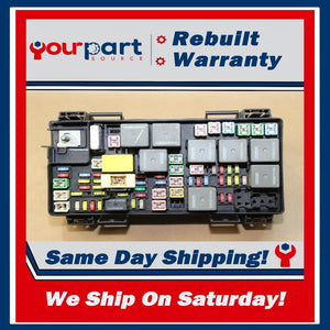 REMAN 08-09 LIBERTY NITRO TIPM TEMIC INTEGRATED FUSE BOX MODULE 04692235AD