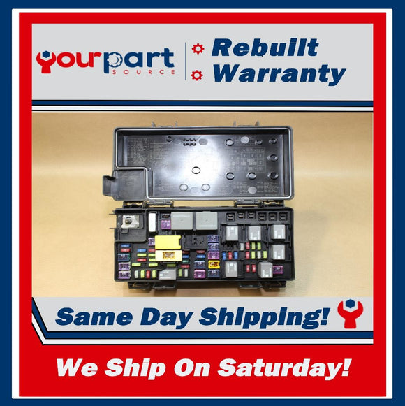 REMAN 2012 CARAVAN T&C TIPM TEMIC INTEGRATED FUSE BOX MODULE 68105507AD