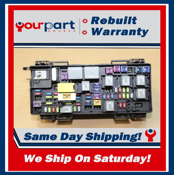 REMAN 14 JEEP WRANGLER 3.6L TIPM TEMIC INTEGRATED FUSE BOX MODULE 68217404AC OEM
