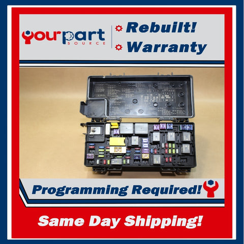 REMAN 16 JEEP WRANGLER 3.6L TIPM TEMIC INTEGRATED FUSE BOX MODULE 68273365AA OEM