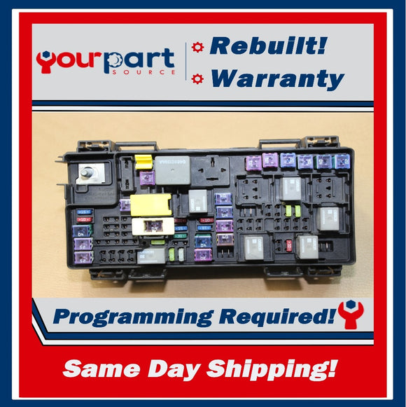 REBUILT 11 DODGE JOURNEY GRAND CARAVAN TIPM TEMIC INTEGRATED FUSE BOX 04692335AE