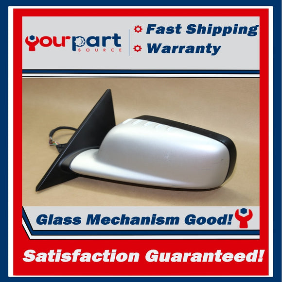 ⚡00-04 BMW 325Ci 330Ci 328Ci COUPE OEM DRIVER LEFT LH L DOOR MIRROR SILVER 02 03
