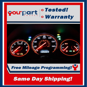 03-05 CIVIC COUPE MT INSTRUMENT CLUSTER SPEEDOMETER GAUGES 78100 S5P A440 NO SRS