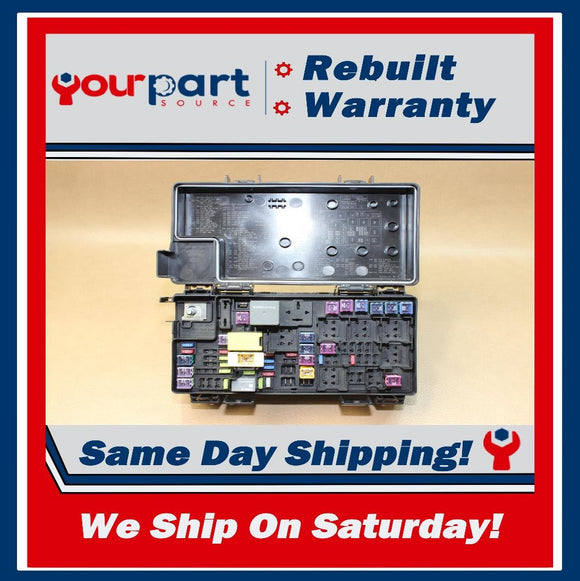 ⚡REBUILT⚡ 2012 JEEP LIBERTY TIPM TEMIC INTEGRATED FUSE BOX MODULE 68105502AC OEM