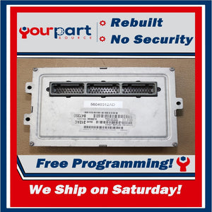 ⚡REBUILT⚡ 02 DODGE DAKOTA 4.7L A/T ECU ECM PCM ENGINE COMPUTER 56040312AD