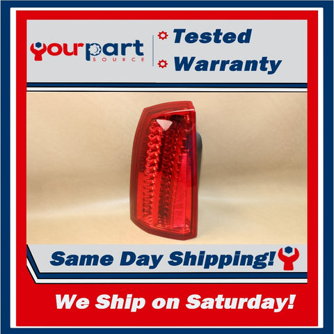 ⚡08-011 CADILLAC STS TAIL LIGHT LAMP TAILLIGHT DRIVER LEFTHAND LH L 25798545 OEM