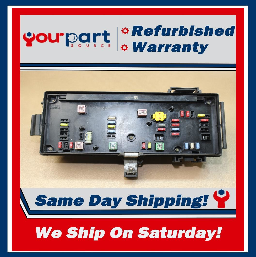 2007 Ram 1500 2500 3500 Fuse Box Tipm Totally Integrated Power Module  U2013 Your Part Source