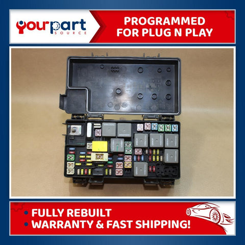 08-09 LIBERTY NITRO TIPM TEMIC INTEGRATED FUSE BOX MODULE 04692235AD ✅REBUILT✅