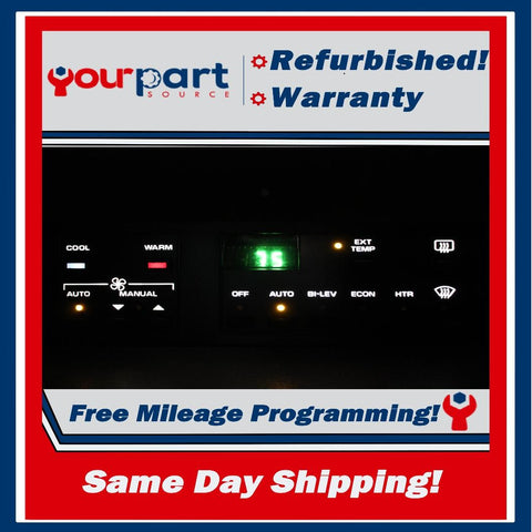 86-89 CHEVY CORVETTE DIGITAL CLIMATE HEATER A/C CONTROL ✅REFURBISHED TESTED✅