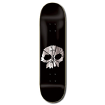 Zero Skateboards Shattered Skull Deck 8.25